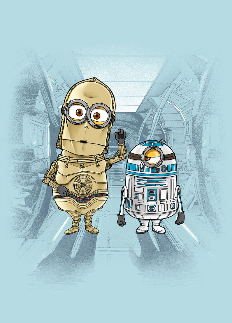 M2D2 and M3PO por Zakeu