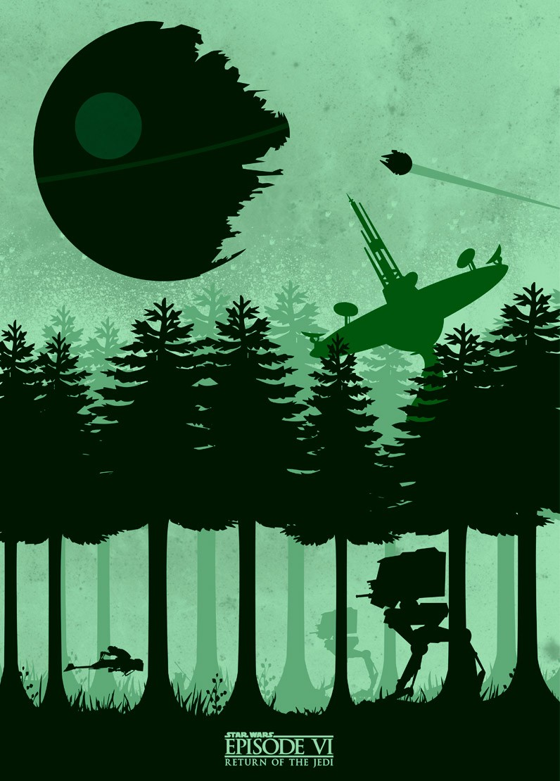 Return Of The Jedi por Mateus Quandt