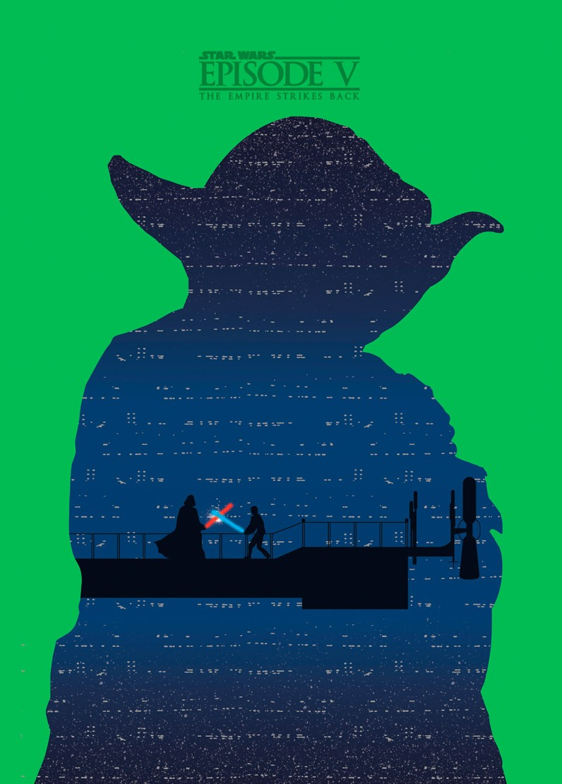The Empire Strikes Back por Mateus Quandt