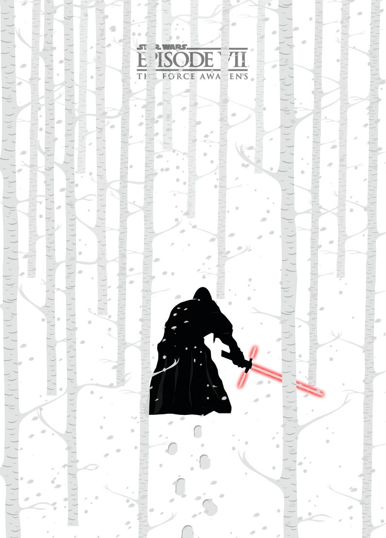 The Force Awakens por Mateus Quandt