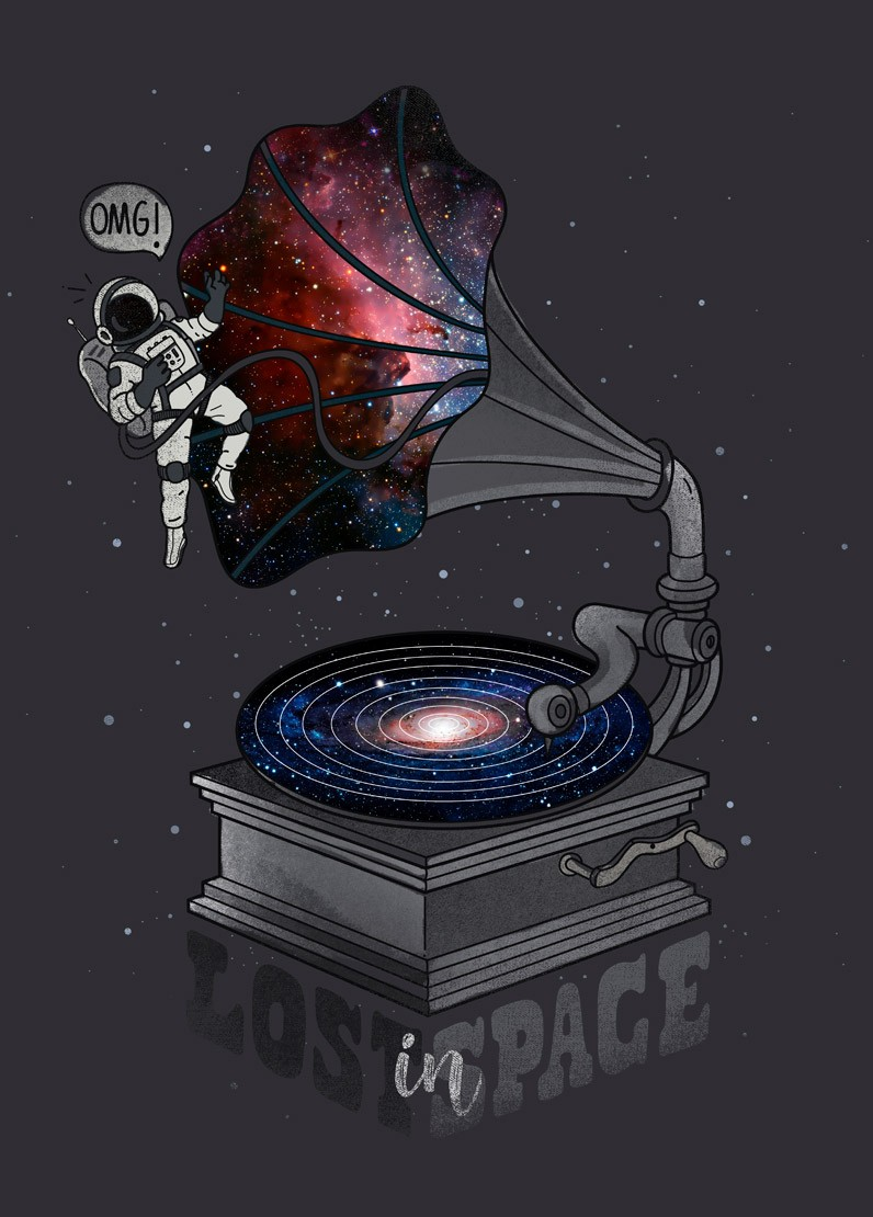Lost in Space por Zakeu